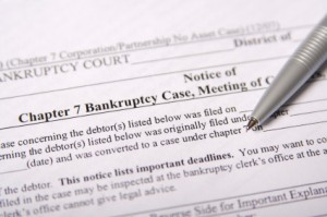 Bakersfield Chapter 7 Bankruptcy Filing